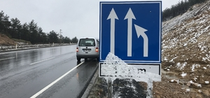 Keşan'da kar yağışı
