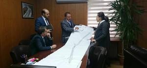 Başkan Akdemir, Karayolları Bölge Müdürünü ziyaret etti