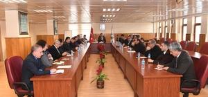 Muş Belediyesinde değerlendirme toplantısı