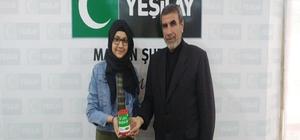 Genç Yeşilaycıdan kampanyaya destek
