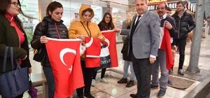 Başkan Çerçi'den bayrak asma çağrısı