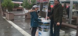 Zeytin Dalı Harekatı için Uşak'ta okuma kampanyası başlatıldı