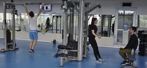 EÜ Sağlıklı Yaşam Salonu 500 kişiye hizmet veriyor