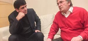Rektör Alma, Saraçoğlu'nu ziyaret etti