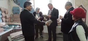 Gediz Kaymakamı Muhammet Ender'den  Eskigediz Belediyesi'ne ziyaret