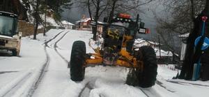 Karla kapanan Gedevet yolu açıldı