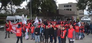 Mudanya'daki kablo fabrikasına grev ilanı asıldı