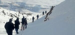 VASKİ ekipleri, 4 kilometrelik yolu yaya giderek arızayı onardı