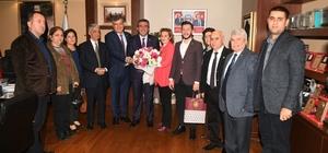 CHP il yönetiminden Başkan Çetin'e ziyaret