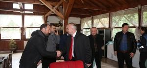 Başkan Yılmazer, eğitim gönüllülerini ağırladı
