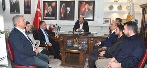 AK Parti teşkilatı ile bir araya geldiler
