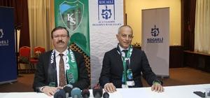 Büyükşehir, Kocaelispor'un kamu borçlarını sıfırladı