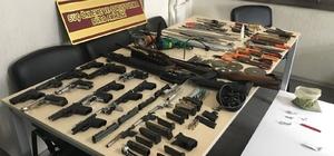 Ruhsatsız silah üretimi yapan kişi tutuklandı