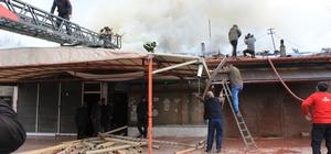 Erzincan'da yangın paniği