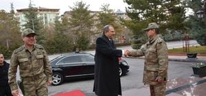 Vali Kaban'dan Tümgeneral Asım Kocaoğlu'na ziyaret