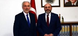 Başkan Kamil Saraçoğlu, Çetinbaş ve yönetim kurulu üyelerini tebrik etti