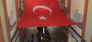 Erzurum BEAH'tan Zeytin Dalı Harekatına bayraklı dualı destek