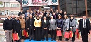 Başkan Yağcı eğitimcilerle bir araya geldi