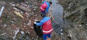 Altıeylül Belediyesi 60 ton çöp topladı