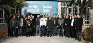 32 yıl sonra ilk defa Eskişehir'de bir araya geldiler