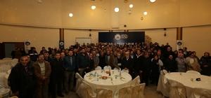 Başkan Dişli, taşeron işçilerle bir araya geldi