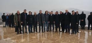Muhtarlar Yeşilyurt Belediyesinin yatırımlarını yerinde inceledi