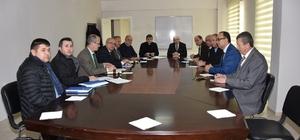 Başkan Kadir Albayrak değerlendirme toplantısına katıldı