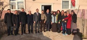 AK Partili Yel'den Türkiye'nin konuştuğu askerin ailesine ziyaret