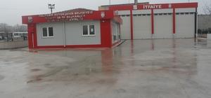 Manyas'a modern itfaiye binası