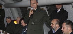 Genekurmay Başkanı Akar'dan şehit ailesine taziye ziyareti