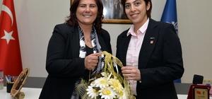 HP Efeler Kadın Kollarından Başkan Çerçioğlu'na ziyaret