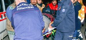 Antalya'da feci kazada ölü sayısı 2'ye yükseldi