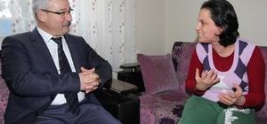Başkan Yaralı'dan Halitpaşa'da ev ziyareti