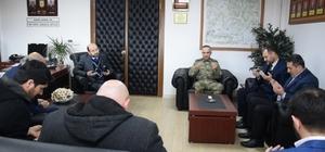 Tugay Komutanlığında Afrin şehitleri için dua