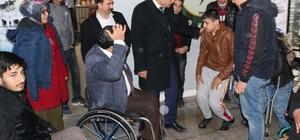 Haliliye'den engelli sporcuya tekerlekli sandalye desteği