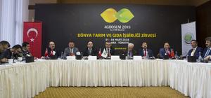 Dünya Tarım ve Gıda İşbirliği Zirvesi tanıtım toplantısı