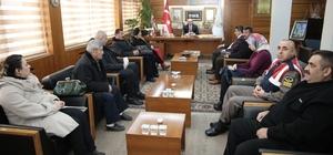 Başkan Aydın, halk gününden sorunları dinledi