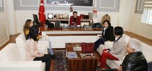 Başkan Genç, CHP'li kadınları ağırladı