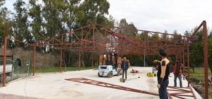 Konyaaltı Belediyesi 'kedi barınağı' inşasına başladı