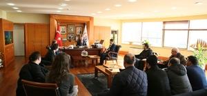 Bayrampaşalı gazilerden Başkan Aydıner'e ziyaret