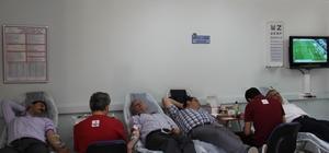 Konya Şeker, Mehmetçik için kan bağışı kampanyası düzenledi