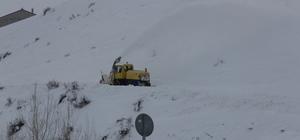 İlçelerde karla mücadele sürüyor