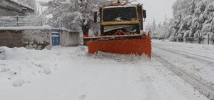 İncesu'da Karla Mücadele Tüm Hızıyla Devam Ediyor