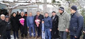Başkan Özgüven mahalle ziyaretlerine devam ediyor