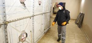 Küçükçekmece Belediyesinden okullarda dezenfekte çalışması