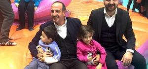 Başkan Fatih Duruay çocuklarla buluştu