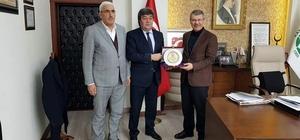 Pınarbaşı Belediye Başkanı Ataş'tan Hüseyin Akay'a ziyaret