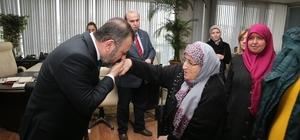 Sincan Belediye Başkanı Ercan halkla iç içe