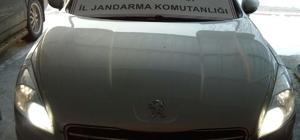 Gümrük kaçağı otomobile el konuldu