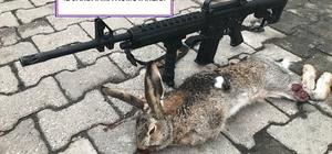Yaban tavşanı vurdu, 2 bin 312 lira ceza ödedi